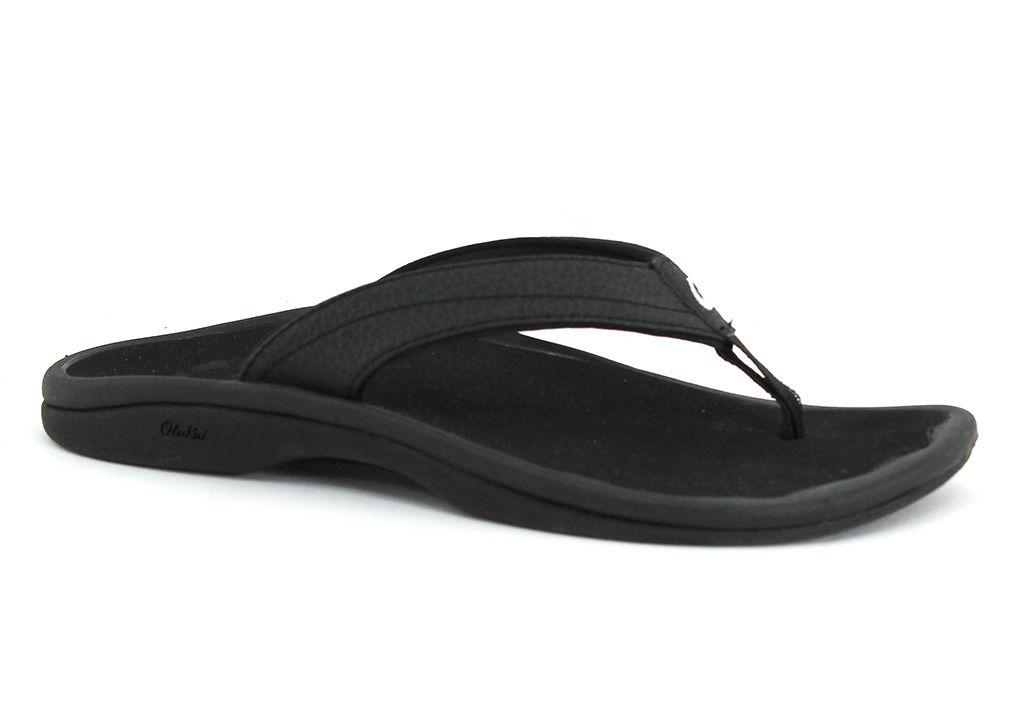 OluKai Women's Ohana Black - 8 M Women's By Houser Shoes