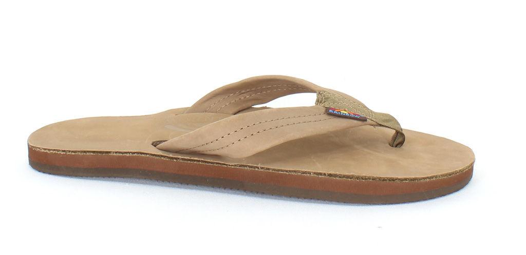 Rainbow Sandals Men's Single Layer Brown - Medium (8.5 - ...