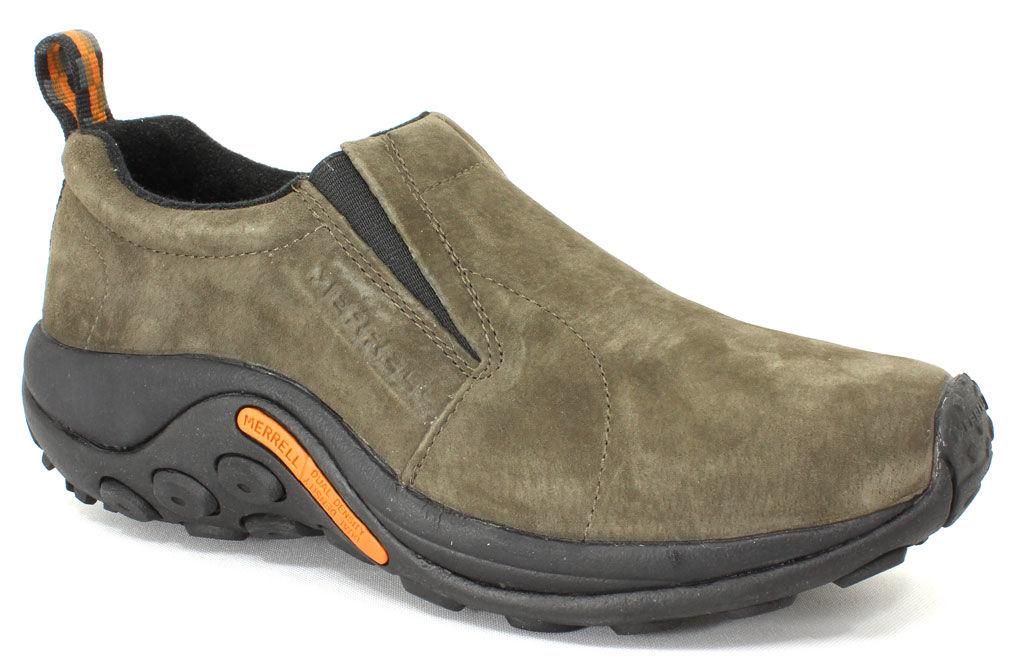 Merrell Jungle Moc Gunsmoke - 8 M Men's By Houser Shoes