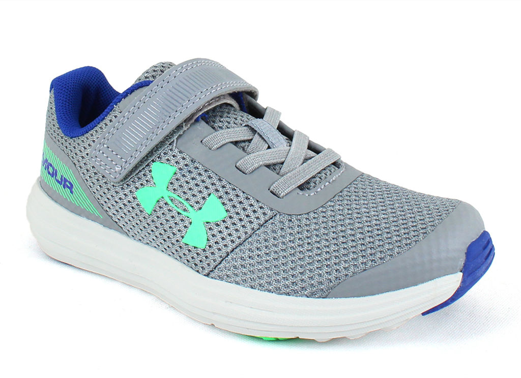 Under Armour Kids Surge Steel Grey - 11 M Little Kid By H...
