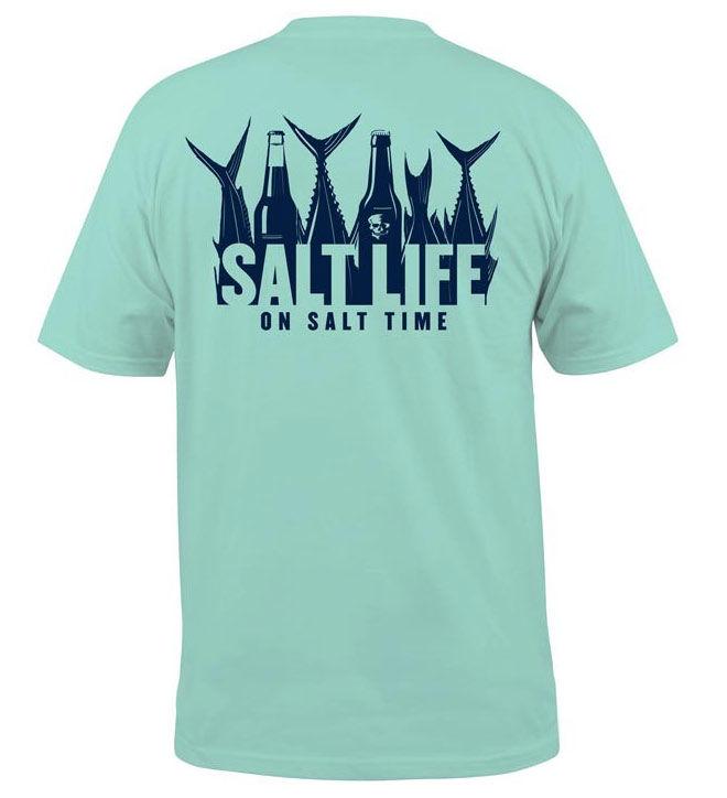 Salt Life Men's 5 O'clock Somewhere Short Sleeve T-shirt ...