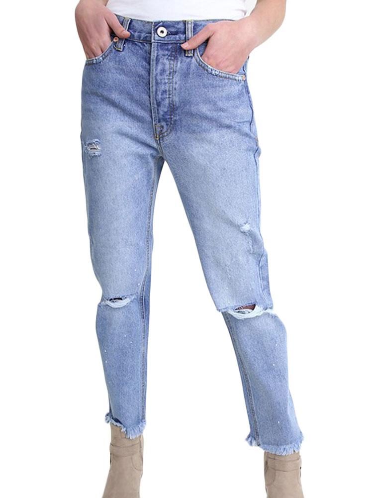 0d08b7c81d3 Umgee Women s Distressed Boyfriend Jeans